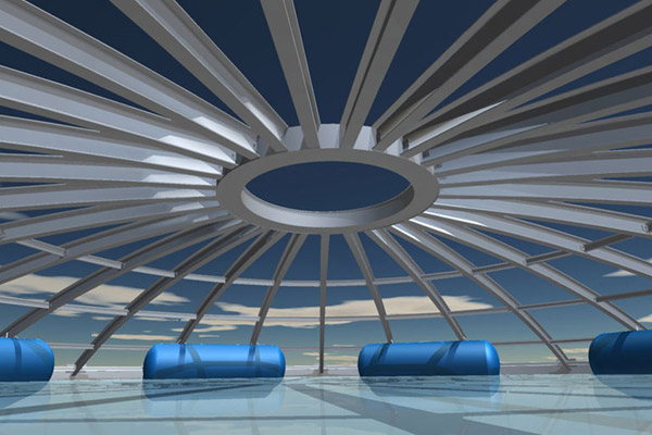 Inflatable Floats For Silo Roofs Buitink Technology