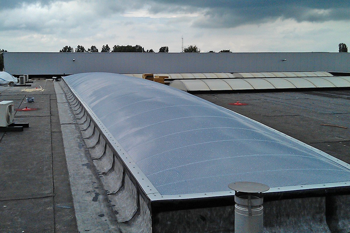 Innovative Air Cushion Roofs Made Of Etfe Foil