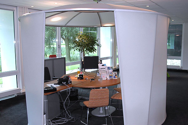 & Office Tents to Create Privacy