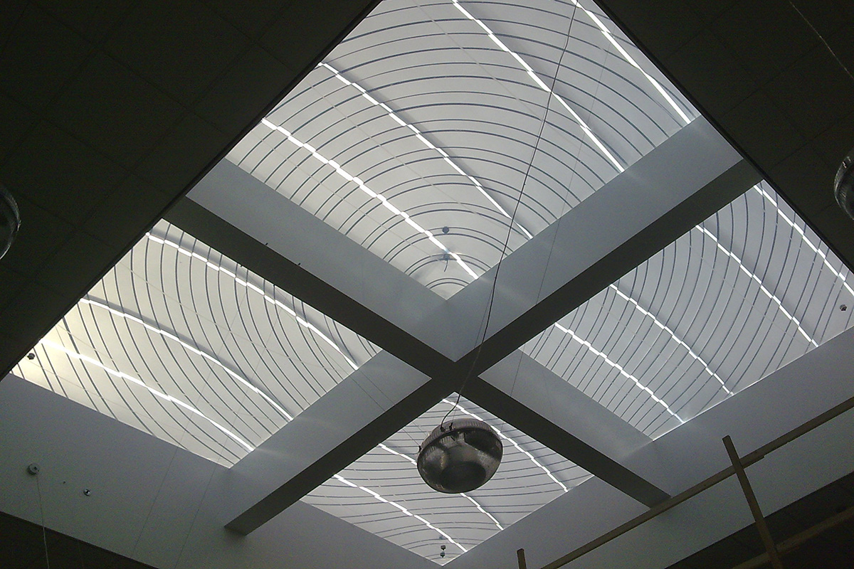 Etfe Upholstered Roofs For Shade Buitink Technology